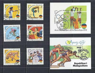 y411 Madagascar / Malagasy   / A Small Collection Early & Modern  Used