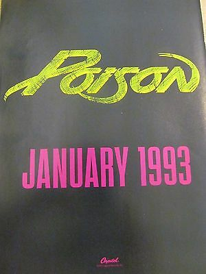 Poison, Full Page Vintage Promotional Ad