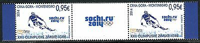 196 MONTENEGRO 2014 - Winter Olympic Games Sochi - MNH Middle Row