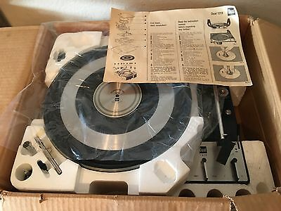 Dual 1219 Professional Automatic Turntable - Plz Read