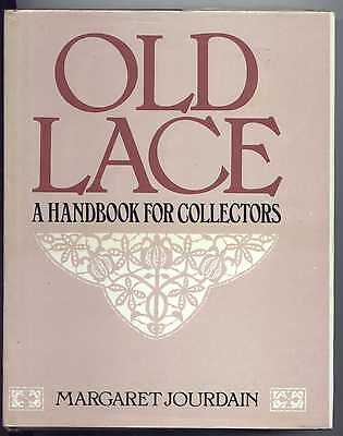 Lace History Book Old Lace