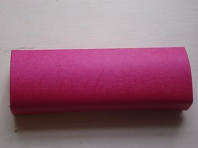 Gorgeous 'CRYSTAL' Firm Bodied Glasses Case - PASSION PINK - NEW