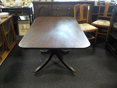 Antique Mahogany Dining Table Been Converted To A  Tilt Top Breakfast Table