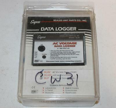 Supco DLAV AC Voltage Data Logger 0-500V New Old Stock