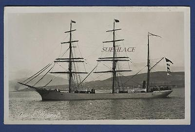 Aux. Barque Severn Russell's Port Glasgow SS Severn Co Missing Newport News Sail