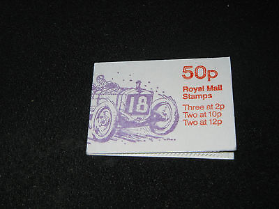 1908 Grand Prix Austin, 50p Folded Stamp Booklet - Scratching Post Cat Charity