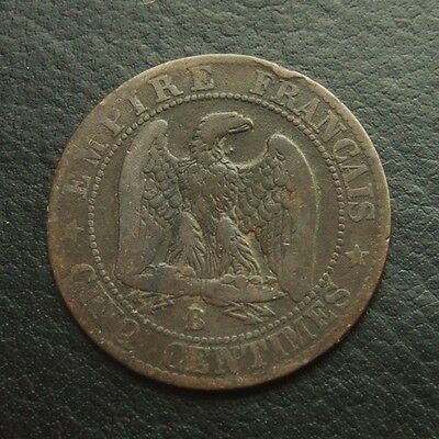 France 5 Centimes 1855-B #03