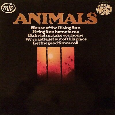 The Animals Most Of 1965 1965 Mfp Emi Press Lp Record Vinyl Album Vg Ex