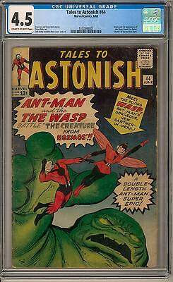 Tales to Astonish #44 CGC 4.5 (C-OW) Origin & 1st appearance of the Wasp