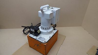 SPX POWER TEAM PE-552 Hydraulic Pump 120 VOLTS  10,000 psi