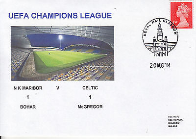 N K Maribor V Celtic Uefa Champions League 20 Aug 2014 Envelope