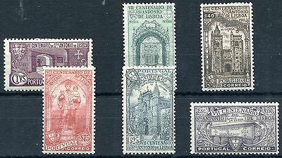 1931 - Portugal - Death Anniversary St Anthony Set Of 6, Mint