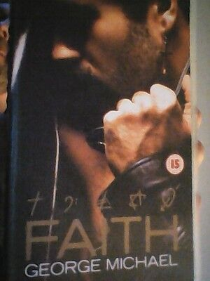 WHAM !  GEORGE MICHAEL  rare  vhs   video -  FAITH   with   exclusive  interview