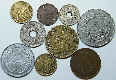 WCA France Coins 1850 - 1947 Lot # S24