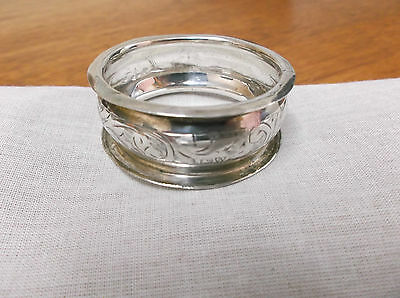 An  Edwardian   Sterling Silver   Napkin Ring  Chester  1901-10
