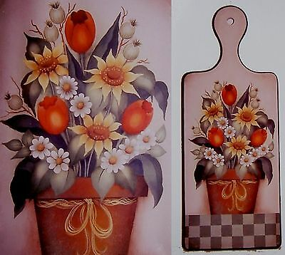 """Gail Anderson Tolehaven Limited Collection pattern  """"Colorful Floral Bouquet"""""""