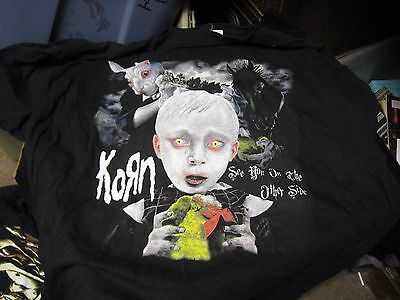2006 KORN Family Values Concert Tour T-Shirt 2XL Stone Sour Deftones Flyleaf