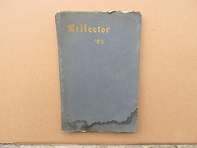 1903 Jackson Michigan Reflector High School Yearbook