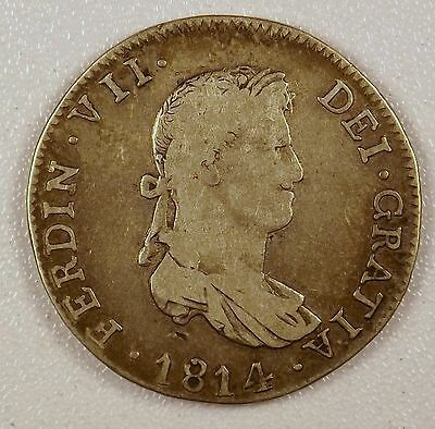 1814 - 4 Reales Silver Coin from Mexico