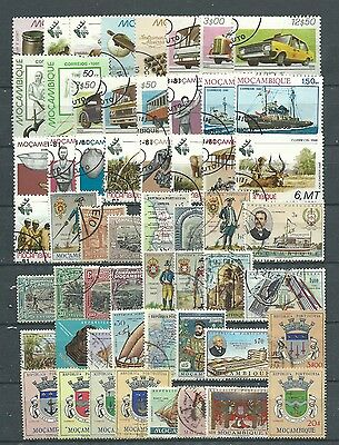 Mozambique, 76 Various, Used
