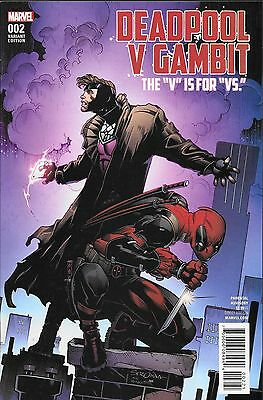 Deadpool V Gambit No.2 / 2016 Variant Cover Edition
