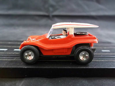 Vintage Aurora / AFX / Tyco /etc...Dune Buggy Coupe (Red)