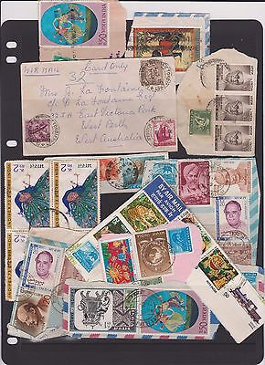 india COVER + MORE stamps WOW