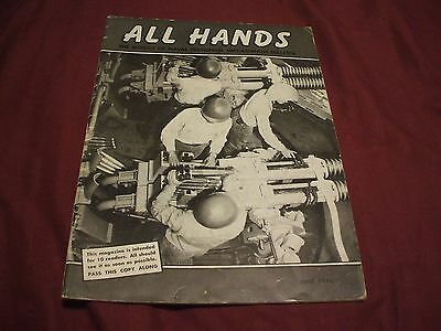 ALL HANDS NAVY/NAVAL/MILITARY Magazine - June 1956