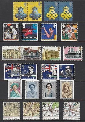 GREAT BRITAIN, 6 SETS, Mint Never Hinged