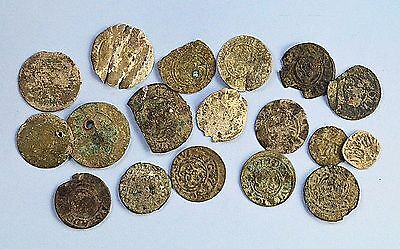 Mixed lot of Medievil European Silver Coins