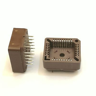US Stock 10pcs PLCC32 32 Pin 32Pin DIP IC Socket Adapter PLCC Converter
