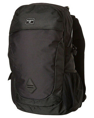 Brand New + Tag Billabong 'zagger' Backpack School Bag 25 Litre Stealth Black