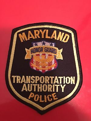 Maryland Transportation Authority  Police  Honor Guard Shoulder Patch