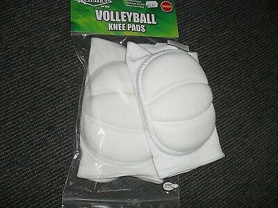 WHITE Reliance Padded Knee Pads Senior : Softball / Baseball, Volleyball, Futsal