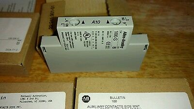 Allen Bradley 100-SA10 Auxiliary Contacts (NO)