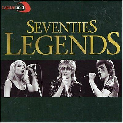 Various Artists - Capital Gold 70's Legends - Various Artists CD HWVG The Cheap
