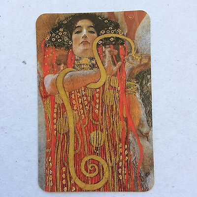 Vintage Swap / Playing Card - Lady with Serpent