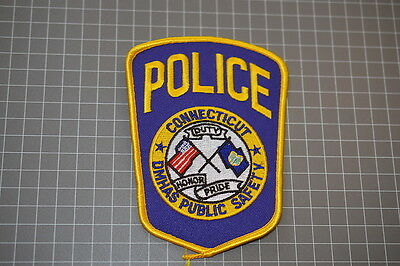 DMHAS Police Department Colnnecticut Patch (T3)