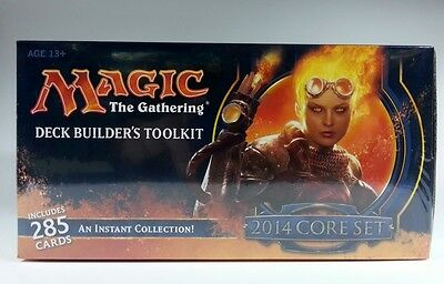 Deck Builder's Toolkit 2014 englisch MtG Magic Deckbau Box Deckbuilders