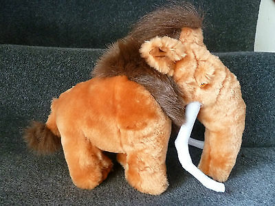 BNWT Ice Age 9 Inch Manny The Mammoth Soft / Plush Toy By Jakks Pacific