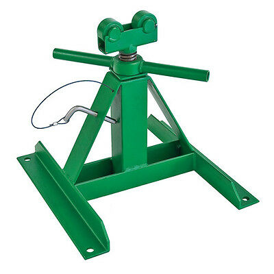 """Greenlee 13"""" - 28"""" 2,500 lb. Capacity Telescoping Reel Stand 687 New"""