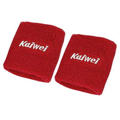 2 PCS Red Protector Brace Elastic Wristband for Adult