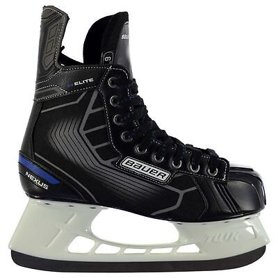 Bauer Mens Nexus Elite Ice Hockey Skates Lace Up Winter Sports Shoes