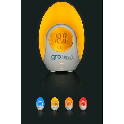 Gro Egg Digital Room Thermometer Baby Safety Colour Changing Nursery