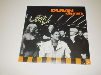 Duran Duran - Liberty - Lp 1990 Emi Records Made In Italy - Nuovo! Punched Copy