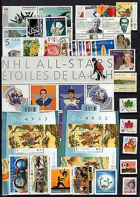 A12075/ Canada / Lot Stamps 2003 / Mint Mnh 118€