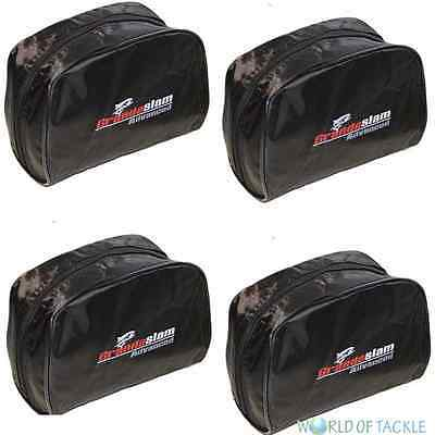 Black Fishing Reel Cases Medium Coarse Carp Reels Tackle Grandeslam 1,2,3,4