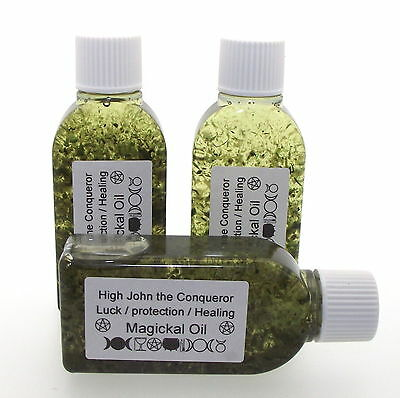 25mls High John The Conqueror Botanical Incense Oil Growth Enlightenment