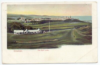 Cromer The Golf Links,publisher Pictorial Stationary Co     (G)