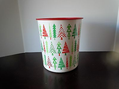 Tupperware Big Christmas Tree 5.5L canister